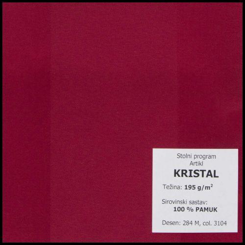 Stolnjak Ø130cm, damast - jednobojni - Bojano tamne boje