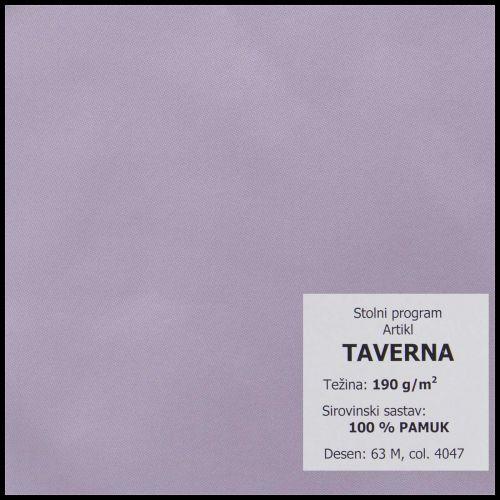 Stolnjak Ø160cm, damast - jednobojni - Bojano svijetle i srednje boje